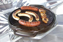 Zonnige barbecues