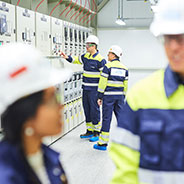 High-voltage substation audit