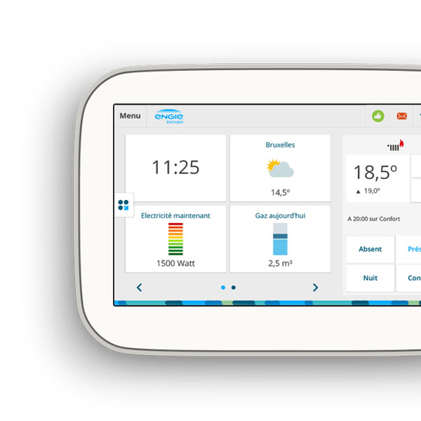 boxx smart thermostat electrabel